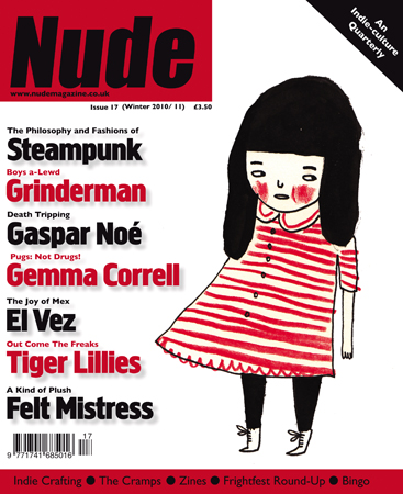 NUDE ISSUE 17, cult, crafts and Nick Cave