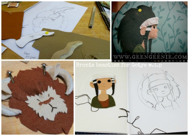 Felt-bronte-beasties-for-Gotye-wip