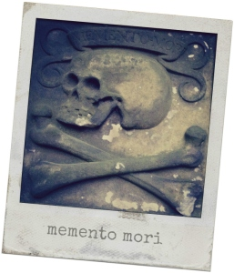Blackfriars Kirkyard- Edinburgh -skull
