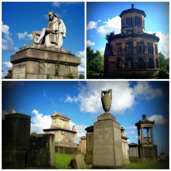 Glasgow Necropolis sights