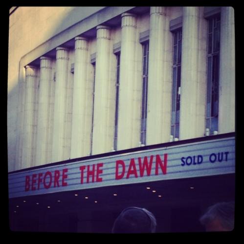 Kate Bush Before the dawn- hammersmith apollo-12 sept 2014