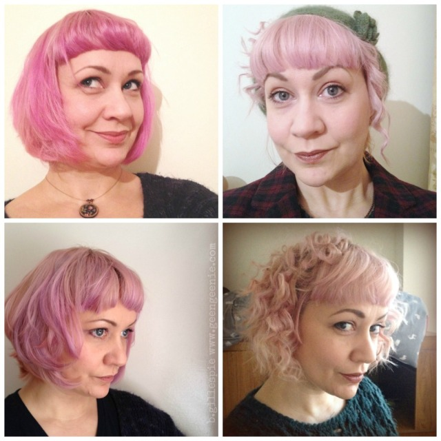 Pink Holiday Hair 2014