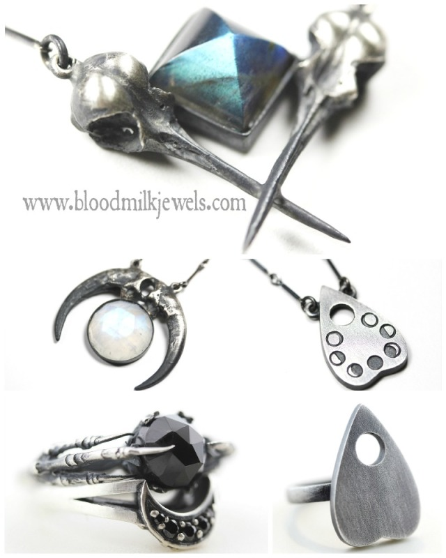 BloodMilk Jewellery collection