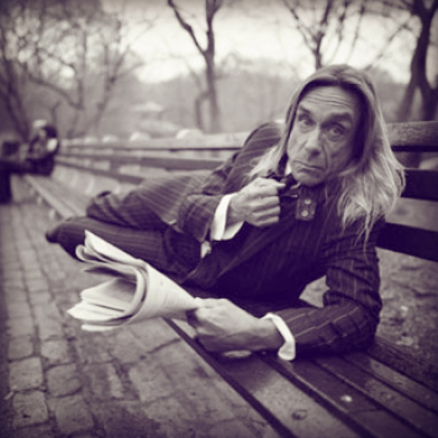 Iggy Pop- Chairman of the Bored