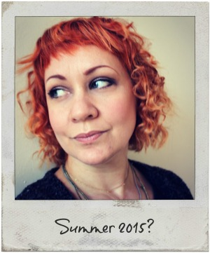 orange ombre summer hair