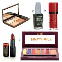 It's not me it's you!- 5 beauty product fails
