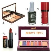 It's not me it's you!- 5 beauty product fails