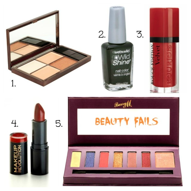 5 beauty fails cosmetics review