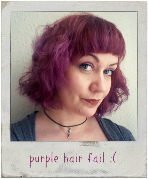 purple hair tint