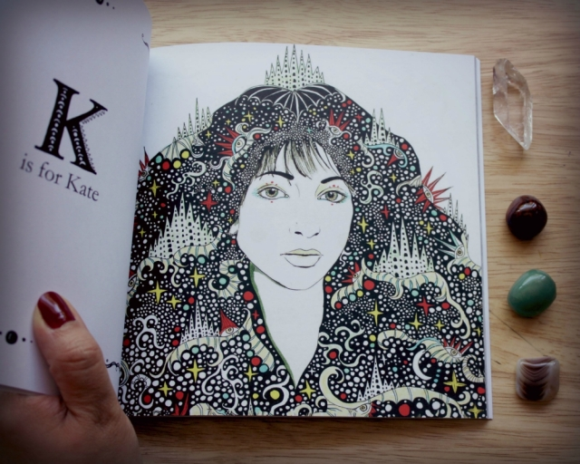K is for Kate Bush- Daria Hlazatova