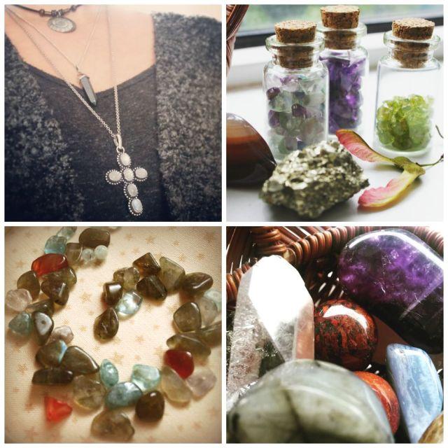 Crystal Gazing- semi-precious gem stones