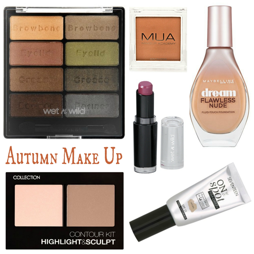 Autumn Make up- Top Five Budget Beauty Buys