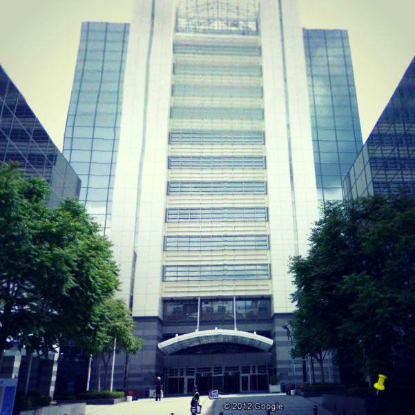 Reynholm Industries-Trinity Tower London