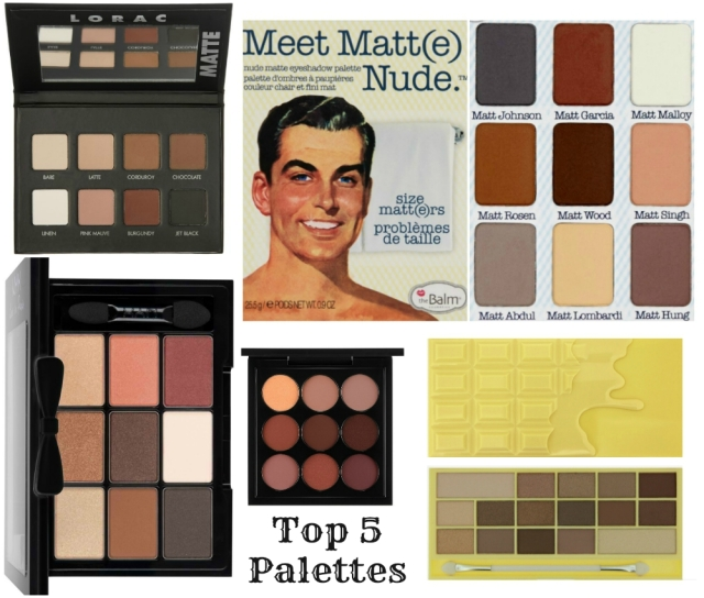 Top Five Rust Coloured Palettes for Grunge Eye Shadow look