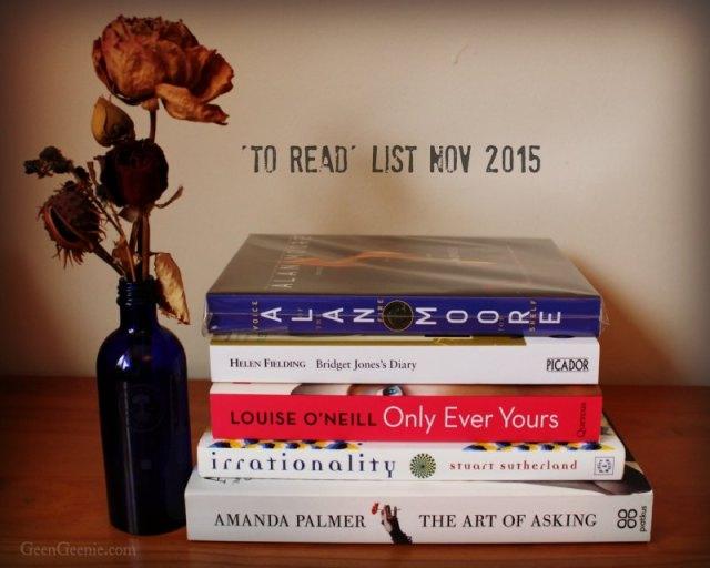 Recommended Reading Nov 2015- geengeenie.com