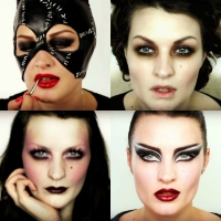Five Dark Alternative Looks from Pixiwoo's MUAs