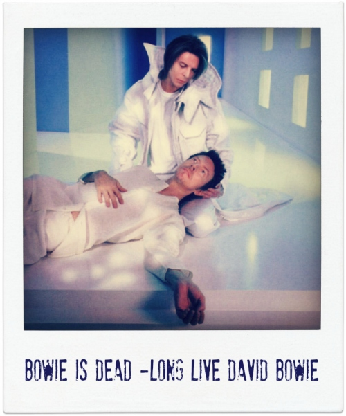 Bowie is Dead-Long Live David Bowie- Hours album cover edit- geengeenie.com