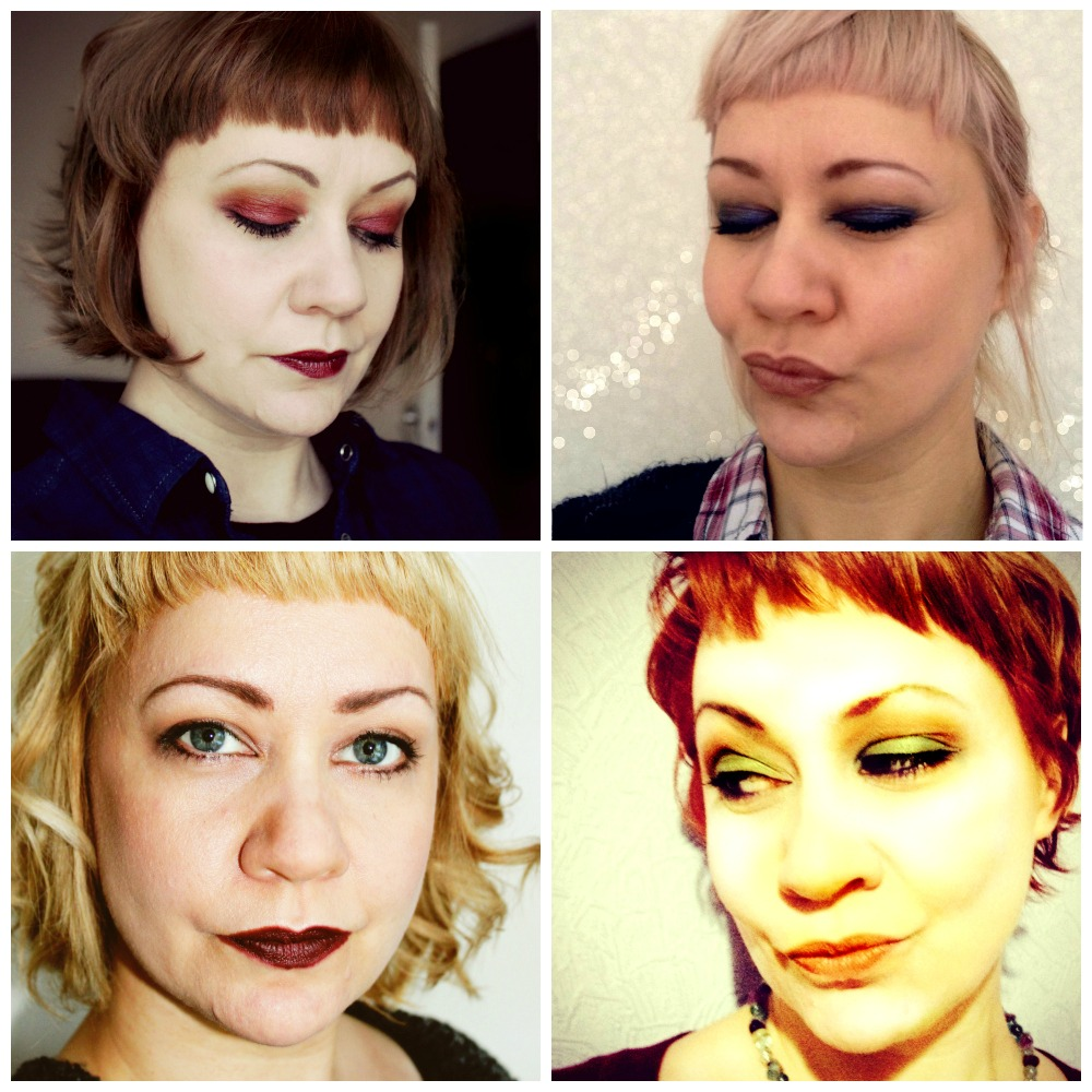 1 Face 4 x Make-up looks