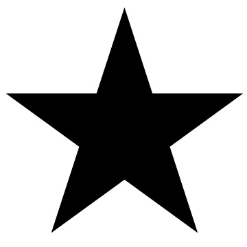 David_Bowie_Blackstar_design elements - free download for personal use