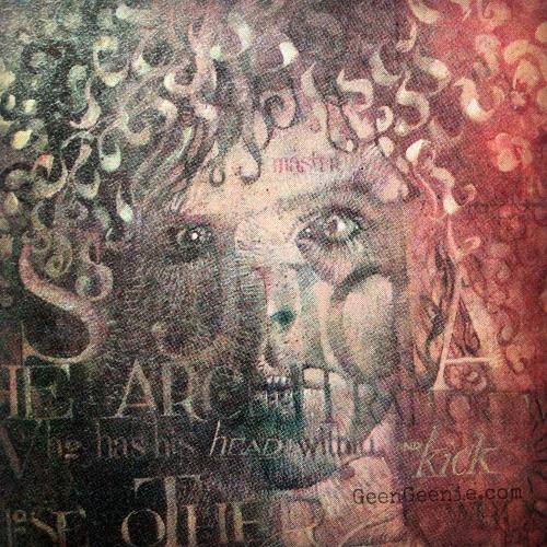 Dave McKean Lucifer -Sandman-Bowie inspired