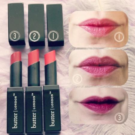 Butter London- Lippy Matte Lipsticks