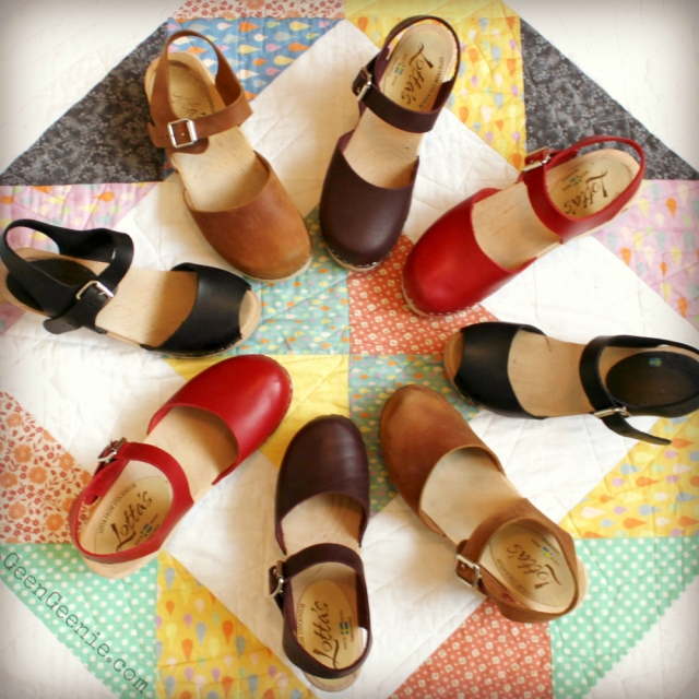 Spring shoes-clog love