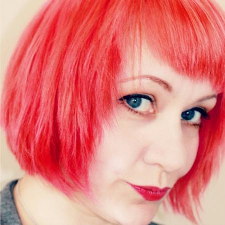 Neon hair SQ
