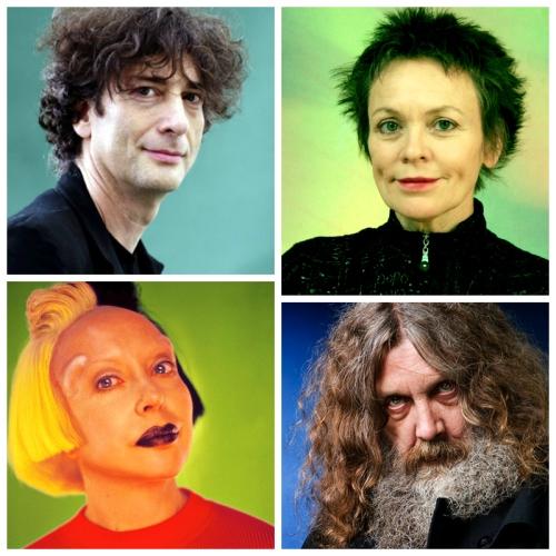 Insirational talks-writers-performance artists