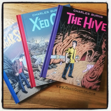 Charles Burns The Hive trilogy